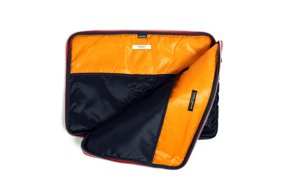 Image of United Arrows & Sons x B JIRUSHI YOSHIDA x Head Porter Tanker Clutch Bag