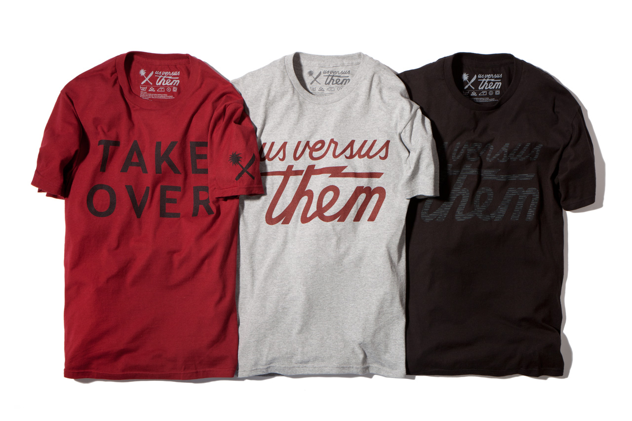 Image of Us Versus Them 2013 Spring/Summer Apparel Collection - Delivery 1