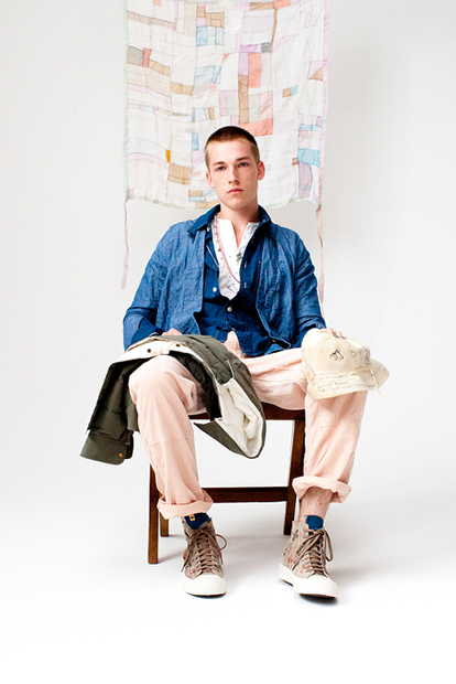 "Image of visvim 2013 Spring/Summer ""Dissertation on Symbolism and our Prayer flag"" Lookbook"