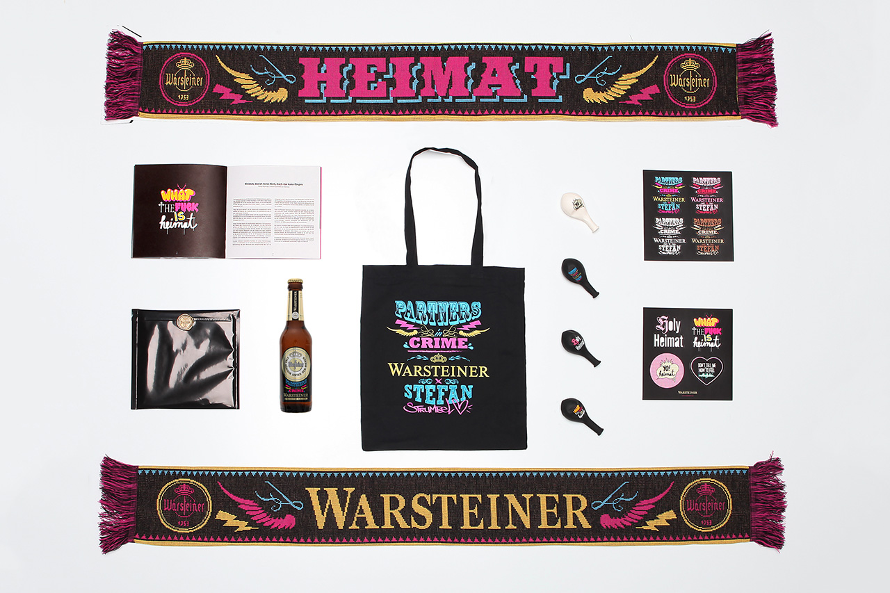 "Image of Warsteiner x Stefan Strumbel ""Partners in Crime"" Exhibition @ ART KARLSRUHE"