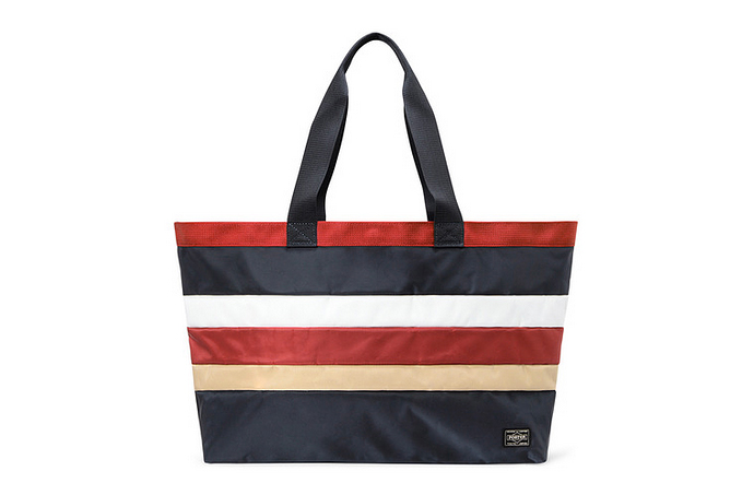 Image of White Mountaineering x Head Porter 2013 Spring/Summer Border Tote Bag