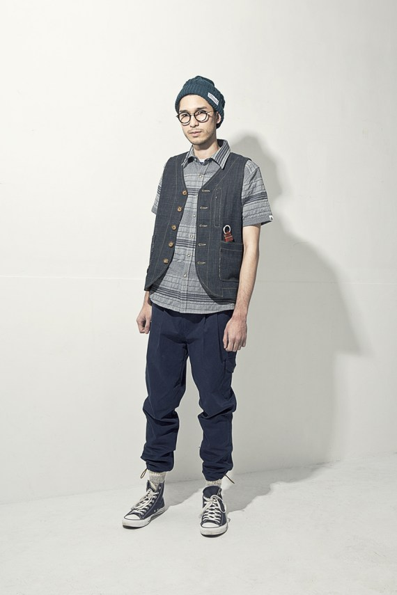 "Image of wisdom 2013 Spring/Summer ""Mt.GENTLEMAN"" Lookbook"