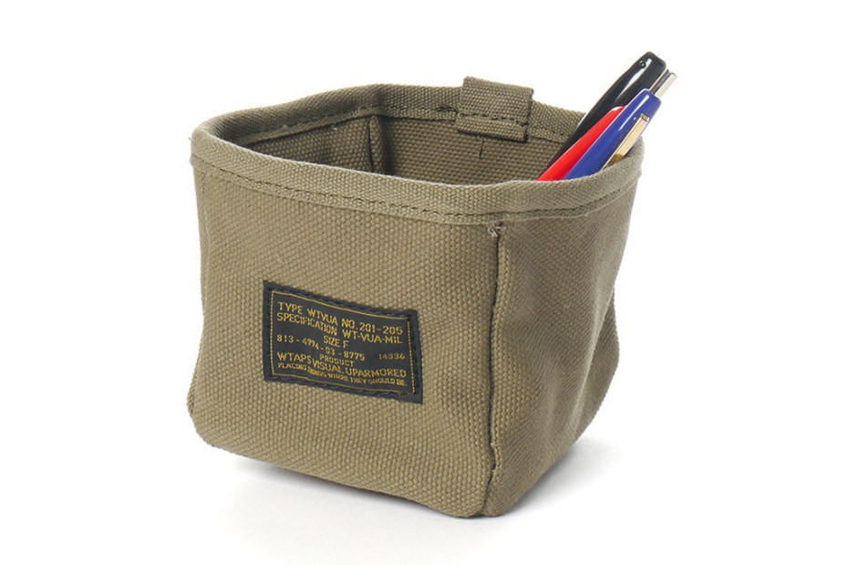 Image of WTAPS 2013 Spring/Summer Mil-Spec Canvas Accessories