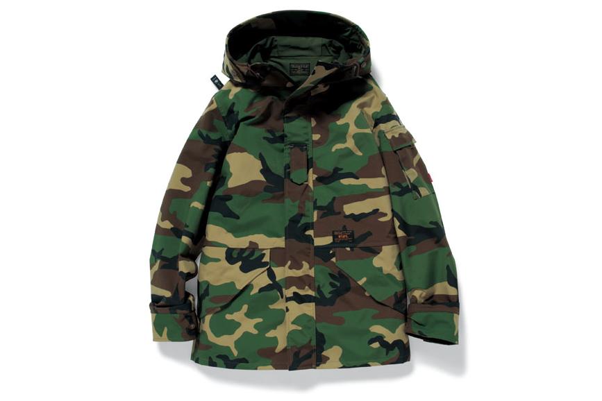 Image of WTAPS ECWCS Camouflage Jacket
