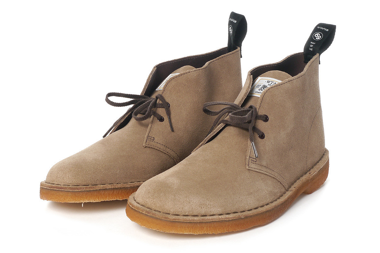Image of WTAPS x Clarks 2013 Spring/Summer Desert Boots