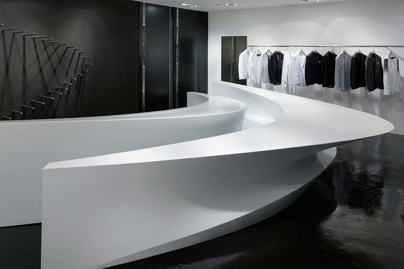 Image of Zaha Hadid x Neil Barrett Shop-In-Shop