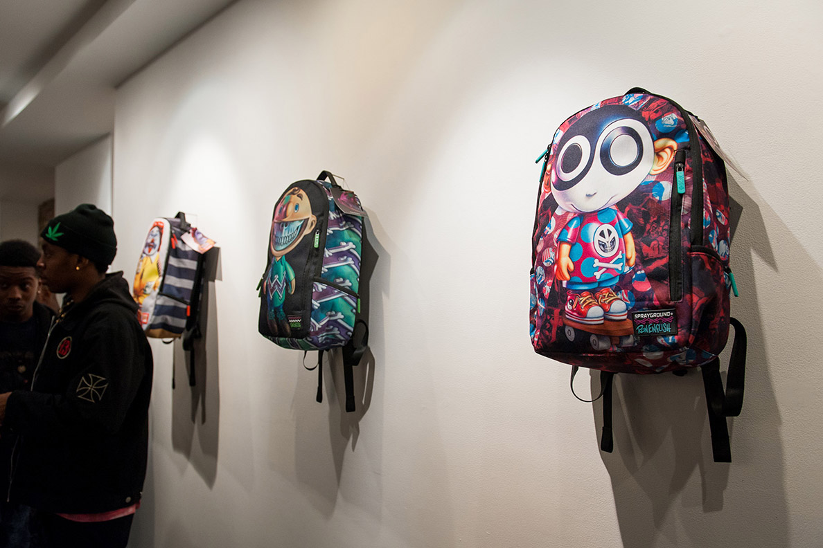 Image of Sprayground and Ron English Team Up On a New Collection of Backpacks