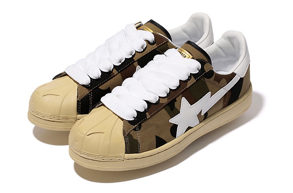 Image of A Bathing Ape 1ST CAMO CANVAS SKULL STA