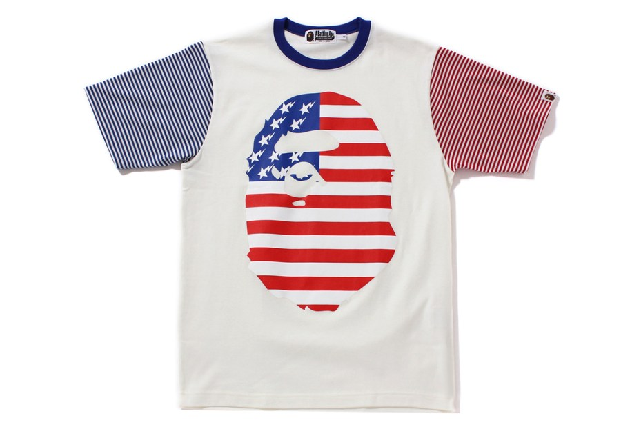 Image of A Bathing Ape 2013 Spring/Summer BIG FACE US TEE