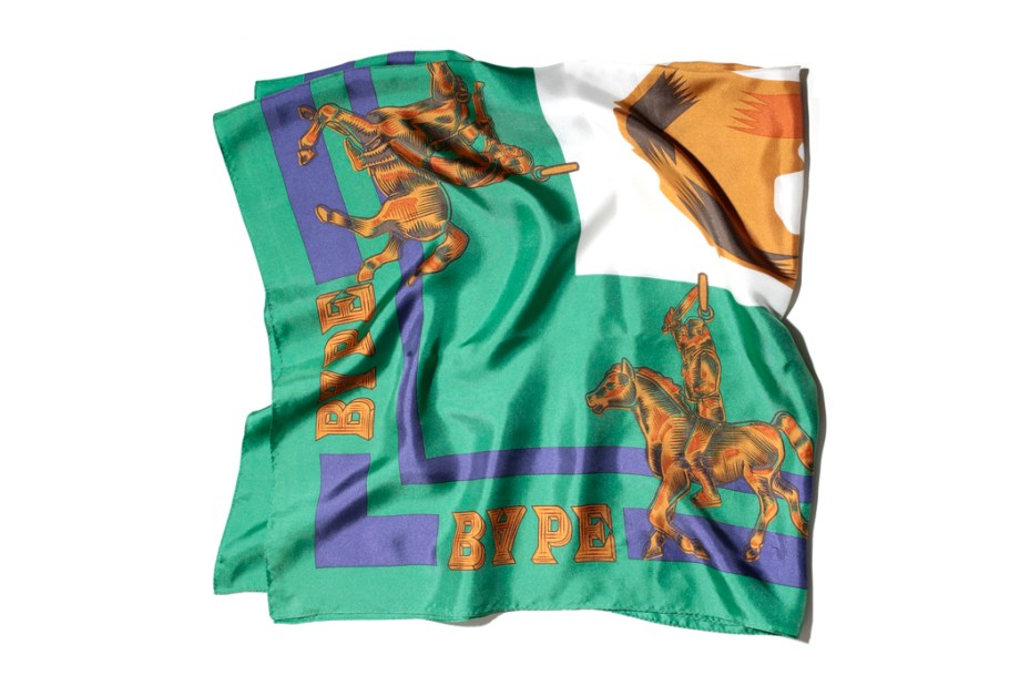 Image of A Bathing Ape 2013 Spring/Summer Golden Life Stole