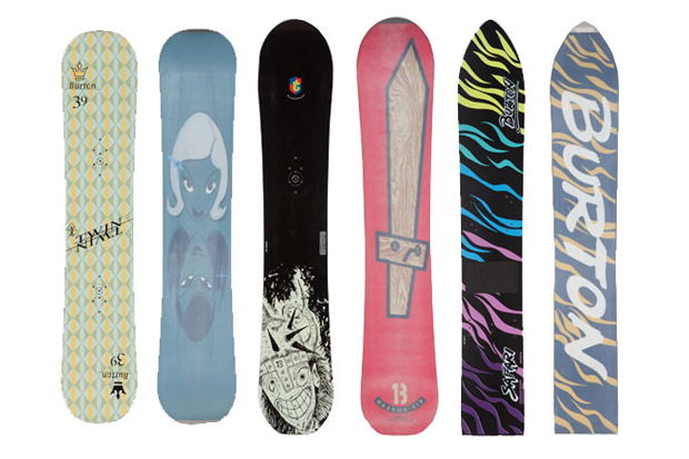 Image of A Look Back at Burton's Most Iconic Snowboard Graphics