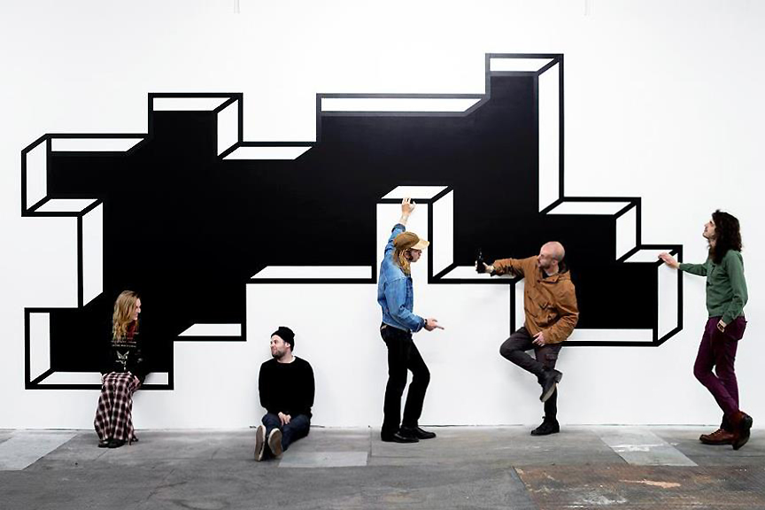 """Image of Aakash Nihalani """"ISLANDS"""" @ Signal Preview"""