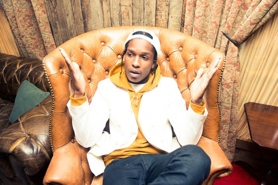 Image of A$AP Rocky for The Coveteur
