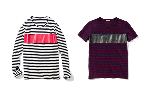 Image of Acne 2013 Spring/Summer Striped Tees