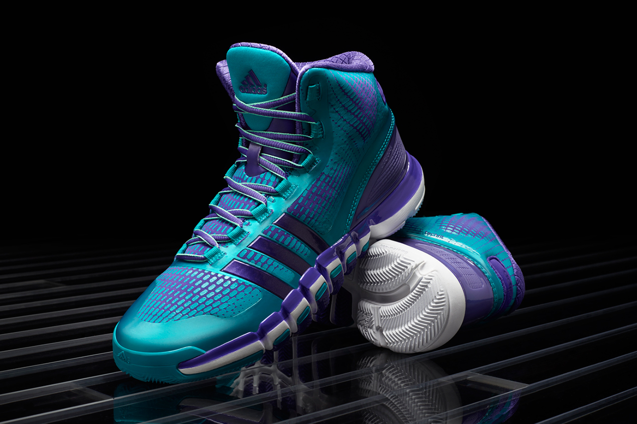 Image of adidas Crazyquick Teal/Purple