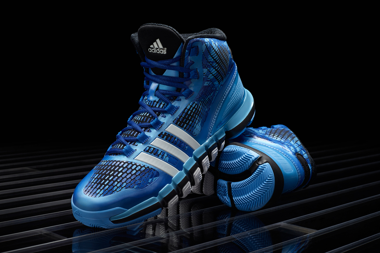"Image of adidas Crazyquick ""Triple-Blue"""