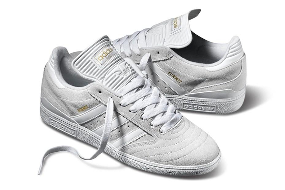 "Image of adidas Skateboarding Busenitz Pro ""White/White"""