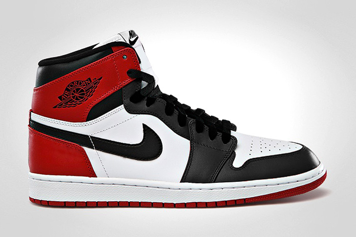 "Image of Air Jordan 1 Retro High OG ""Black Toe"""