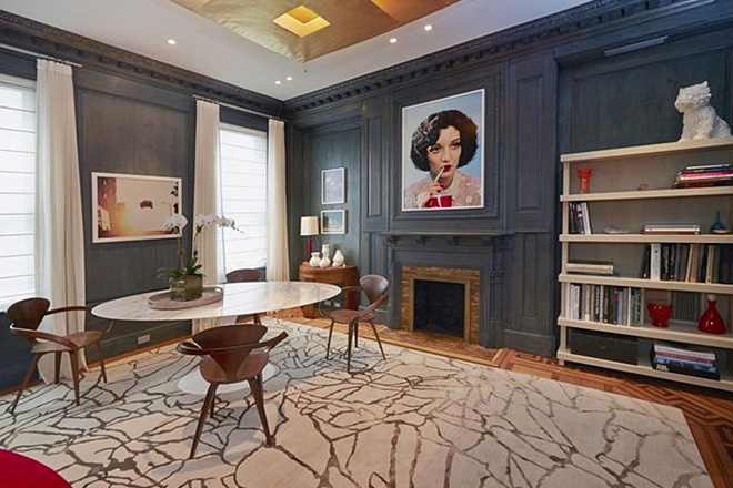 Image of Andy Warhol's NYC Townhouse is Up for Sale