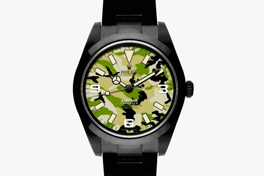 Image of Bamford Watch Department Military Dial Camouflage Explorer I Collection
