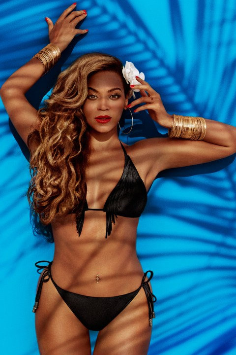 Image of Beyoncé's H&M Swimwear Campaign Unveiled