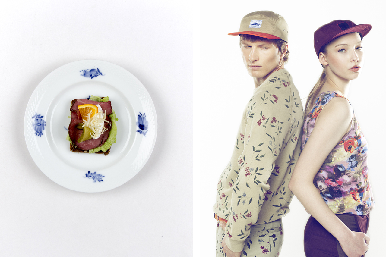 Image of Bitchslap Magazine Pairs the Best of Danish Food and Fashion