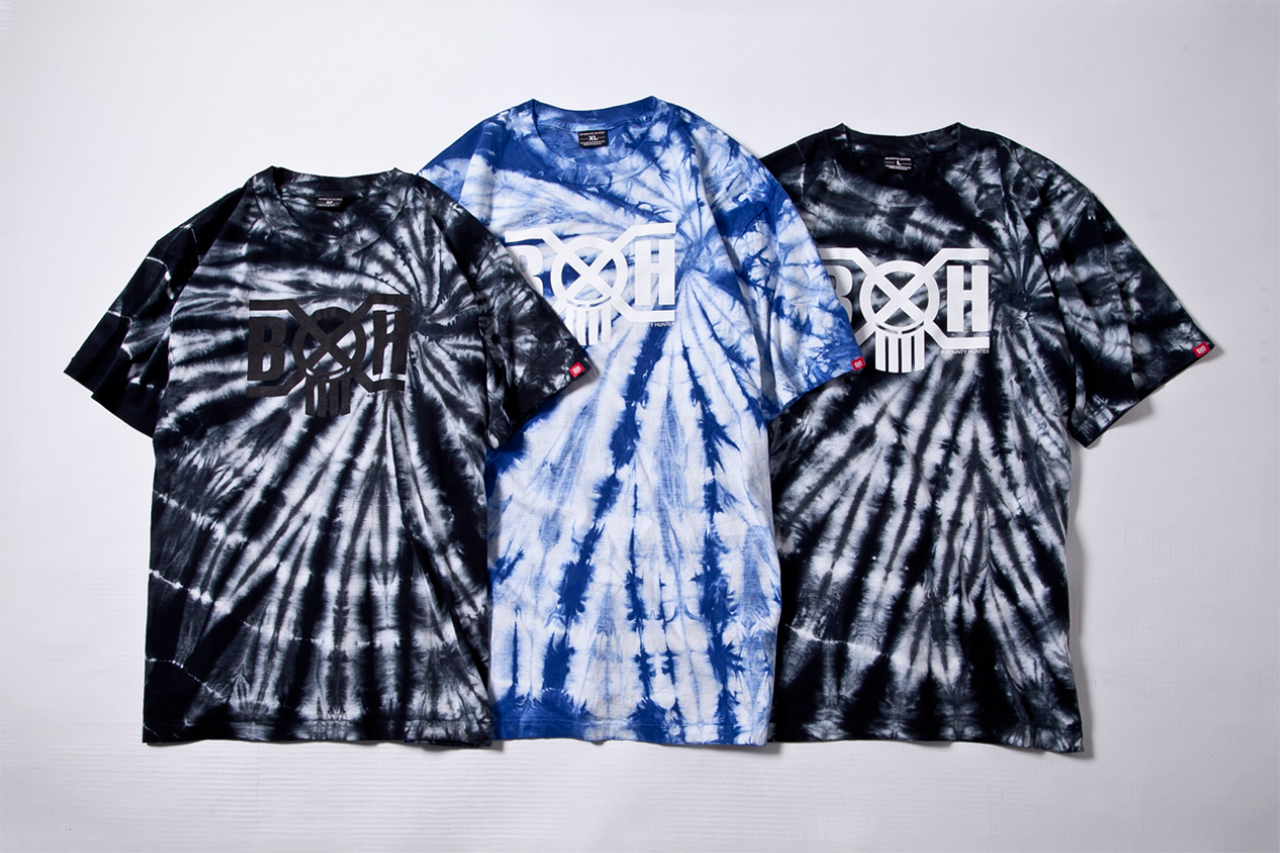Image of BOUNTY HUNTER 2013 Spring/Summer BxH Tie-Dye Logo Tee