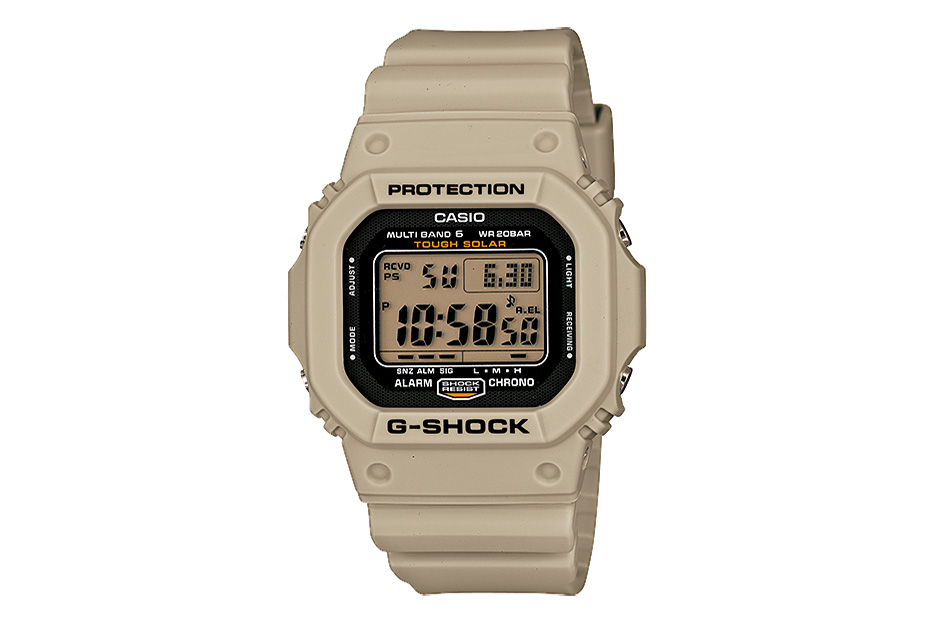 "Image of Casio G-Shock ""Desert Beige"" Series"