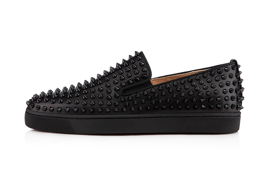 Image of Christian Louboutin 2013 Spring/Summer Roller-Boat Flat Black