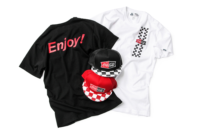 Image of Coca-Cola Collaborates with Nine Different Brands for a ZOZOTOWN Exclusive Collection