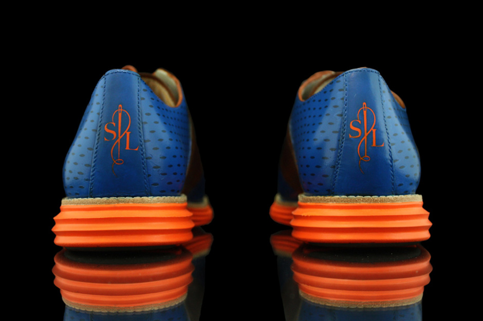 "Image of Cole Haan Lunargrand ""Knicks"" by Revive Customs for Spike Lee"