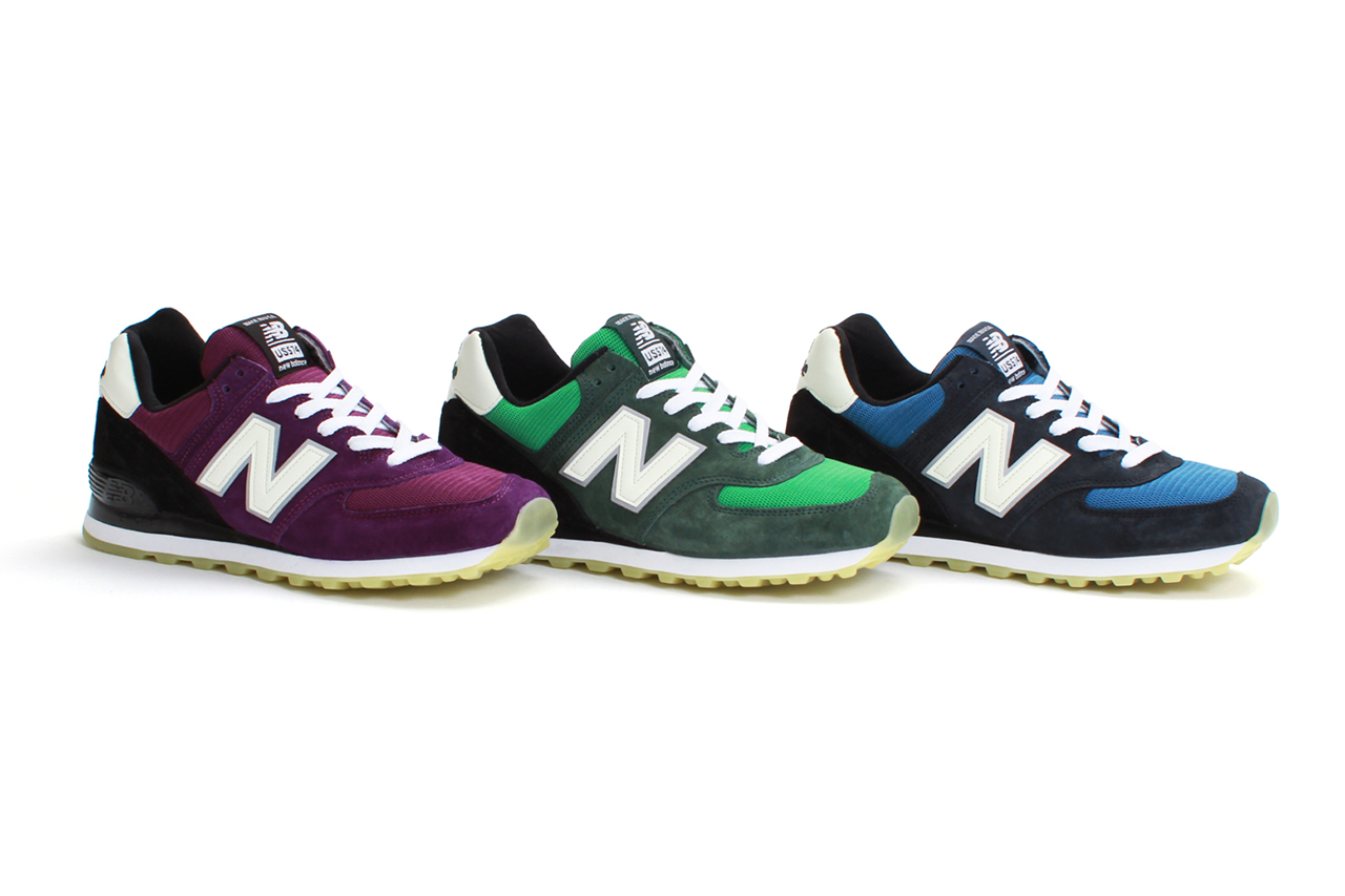 "Image of Concepts x New Balance 2013 Spring/Summer US574 ""Northern Lights"" Pack"
