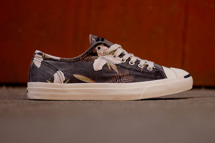 "Image of Converse Jack Purcell ""Navy Floral"""