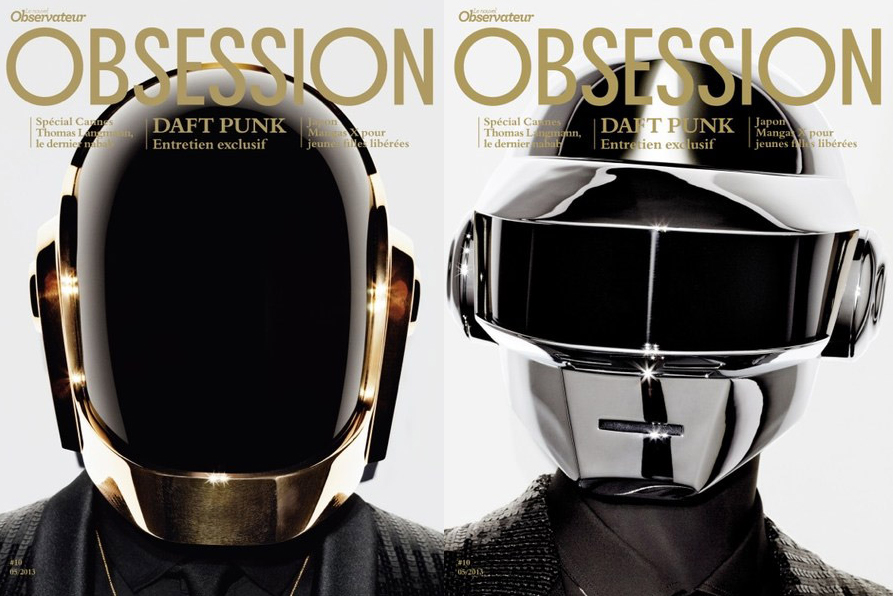 Image of Daft Punk Cover the May 2013 Issue of Obsession Magazine