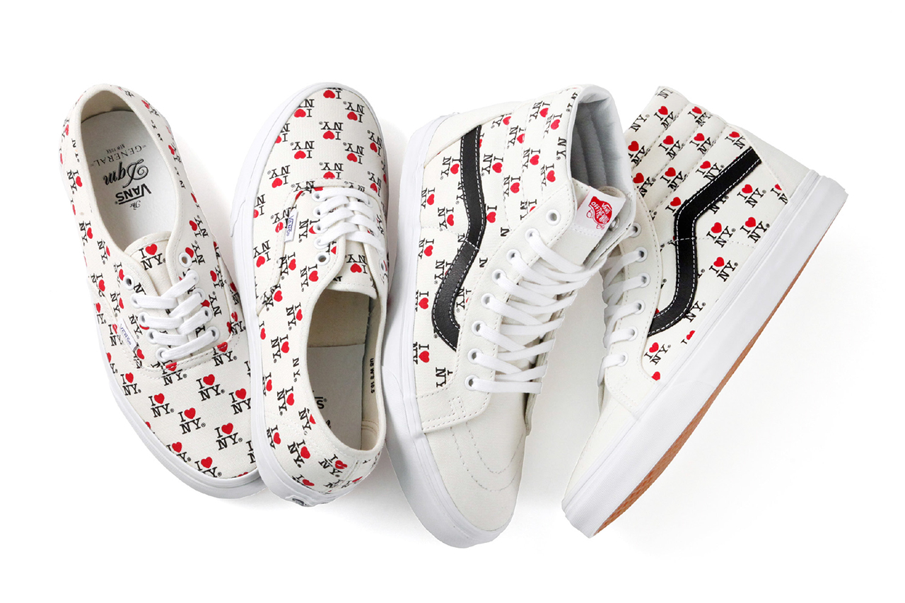 "Image of DQM x Vans 2013 Spring/Summer ""I Love NY"" Collection"