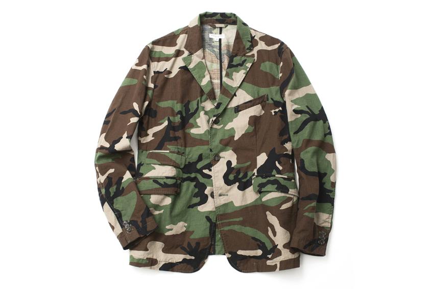 Image of Engineered Garments 2013 Spring/Summer Camouflage Blazer