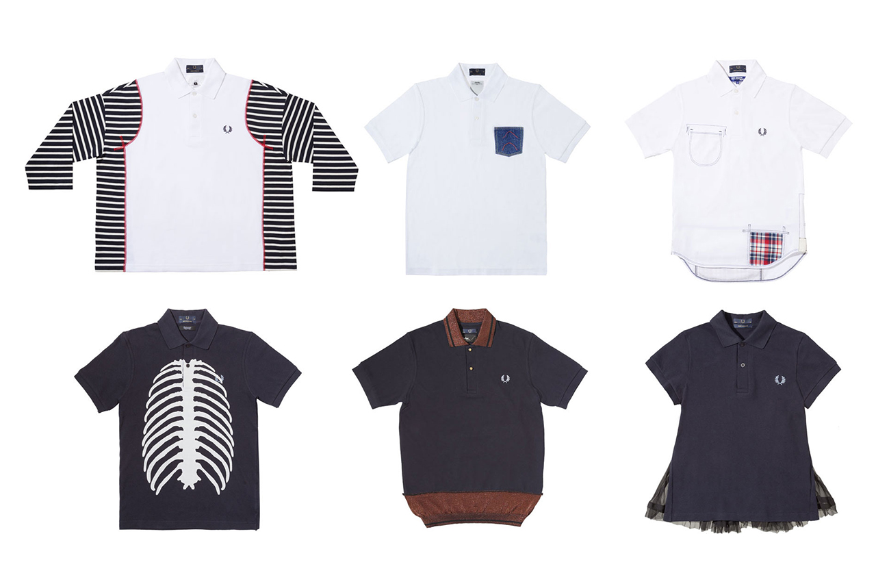 Image of Fred Perry 60th Anniversary Collaborations for Dover Street Market Ginza