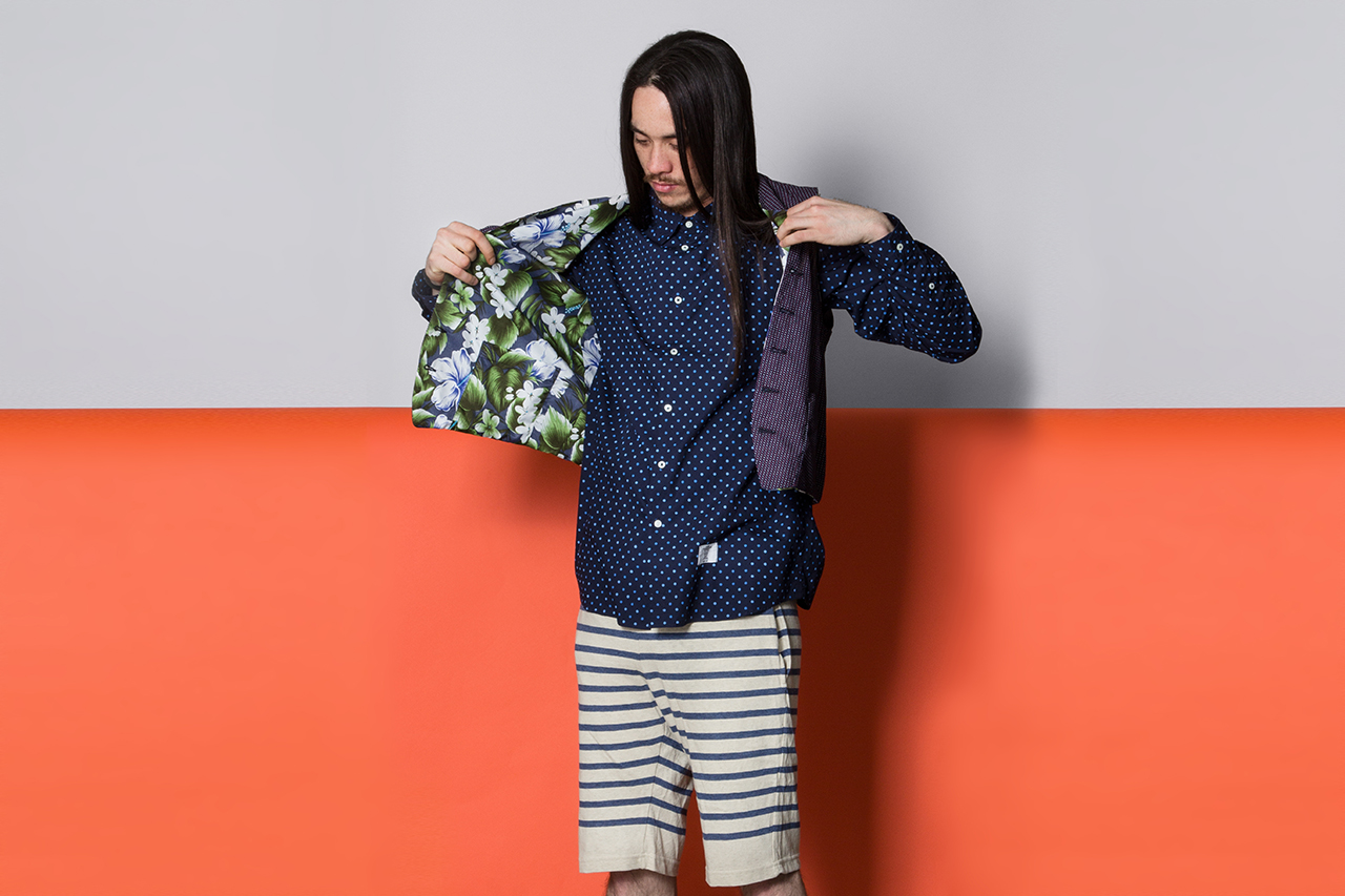 "Image of Garbstore 2013 Spring/Summer ""Scale: English Summer Part 2″ Lookbook"