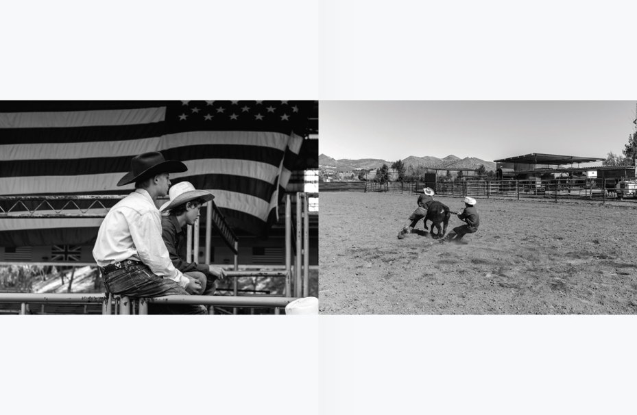 "Image of Hedi Slimane ""American Cowboys"" Editorial for HERO Magazine"