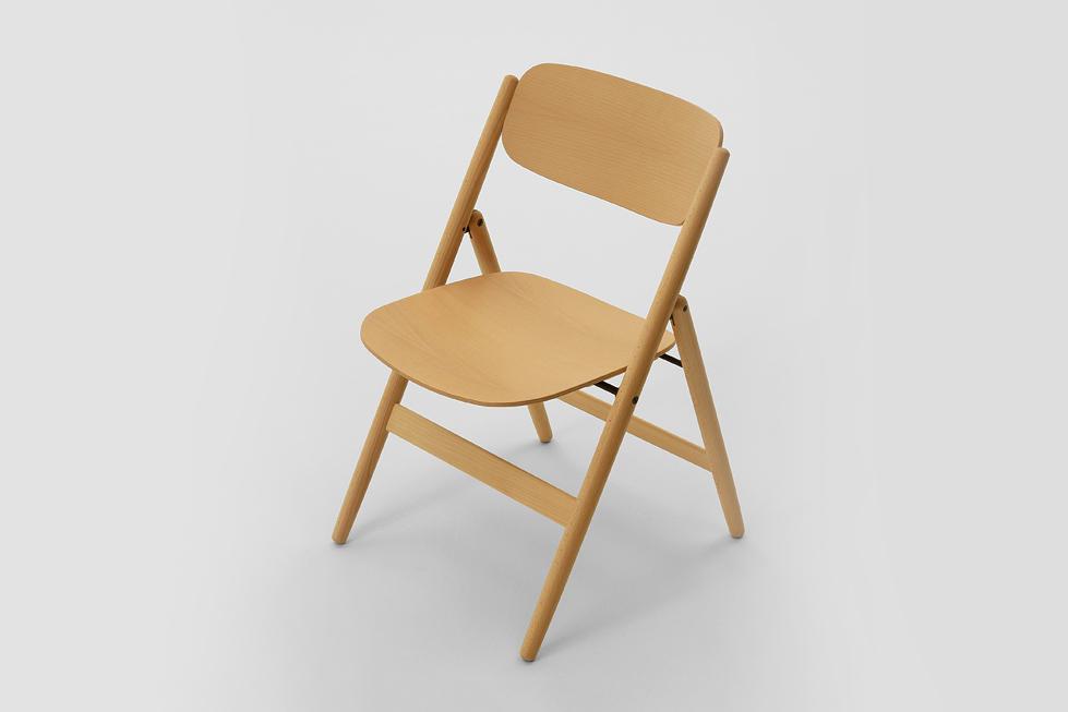 Image of Hiroshima Folding Chair by Naoto Fukasawa