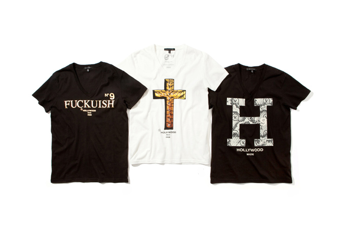 Image of HOLLYWOOD MADE x VANQUISH 2013 Spring/Summer T-Shirt Collection