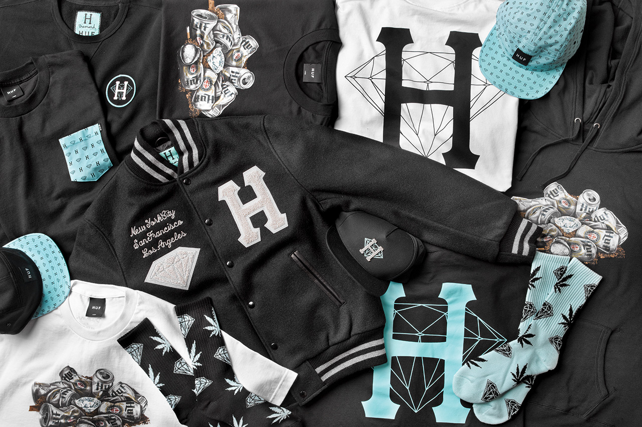 Image of HUF x Diamond Supply Co. 2013 Spring/Summer Collection