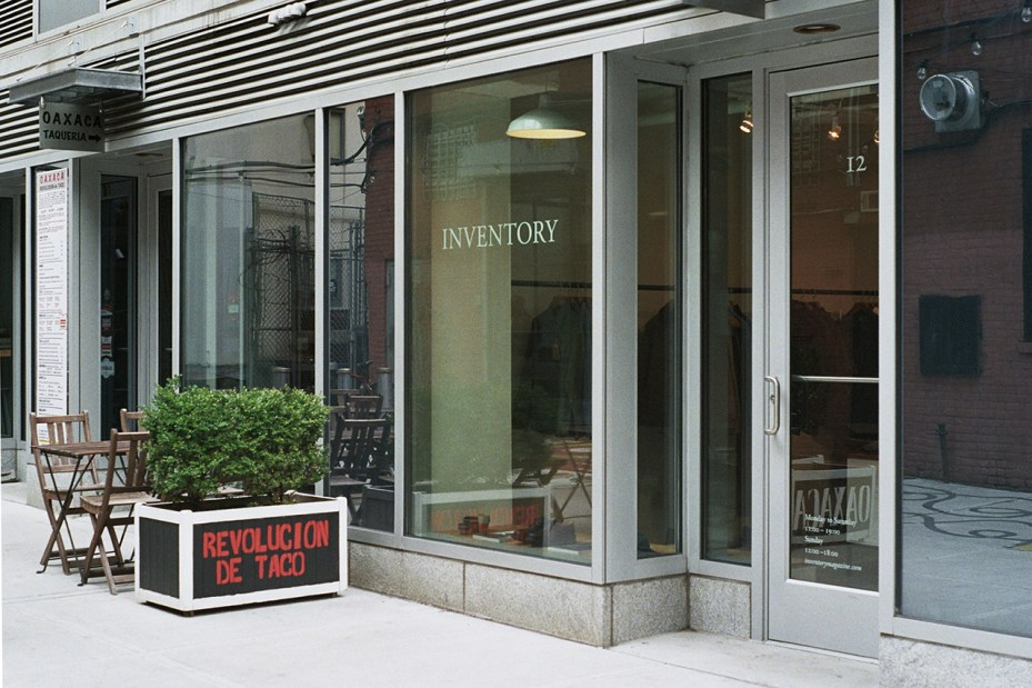 Image of Inventory Opens a New Store in New York City
