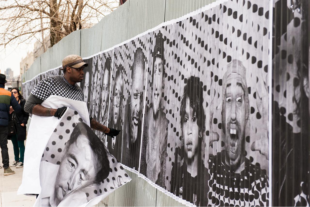 Image of JR Inside Out New York City Recap