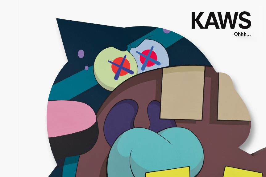 """Image of KAWS """"Ohhh..."""" Exhibition @ KaiKai Kiki Gallery"""