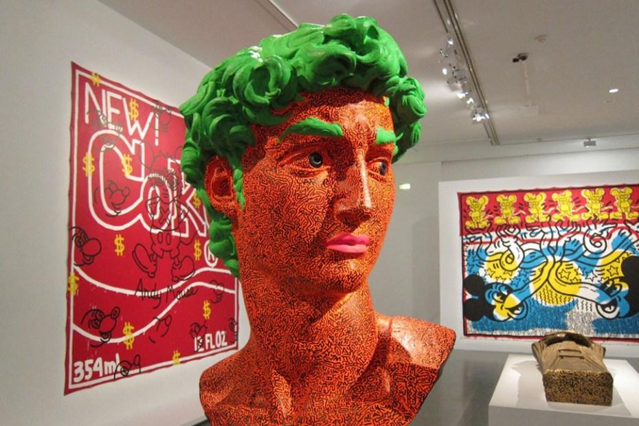 "Image of Keith Haring ""The Political Line"" Retrospective Exhibition @ MAM Paris Recap"