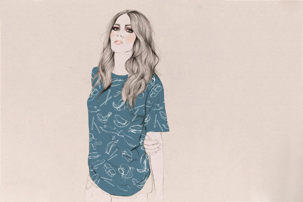 Image of Kelly Thompson x ROOK 2013 Spring/Summer Illustrated Lookbook
