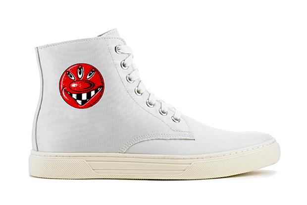 "Image of Kenny Scharf x Alejandro Ingelmo 2013 Spring/Summer ""Josh"" High-Top Sneaker"