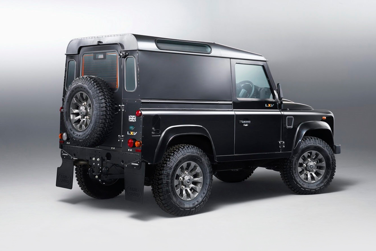 Image of Land Rover Defender LXV Special Edition