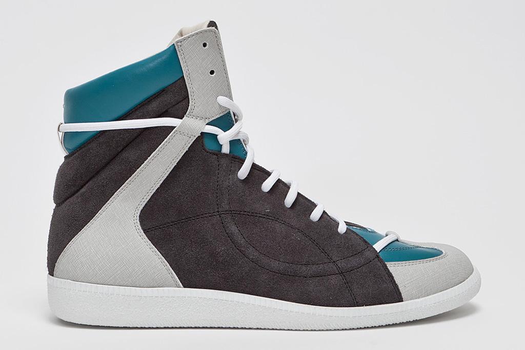Image of Maison Martin Margiela Panelled High Top Sneaker